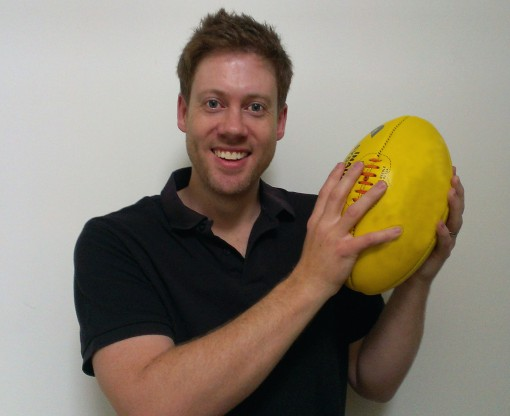 AB with footy 3