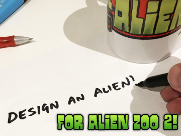 Design An Alien Comp 3